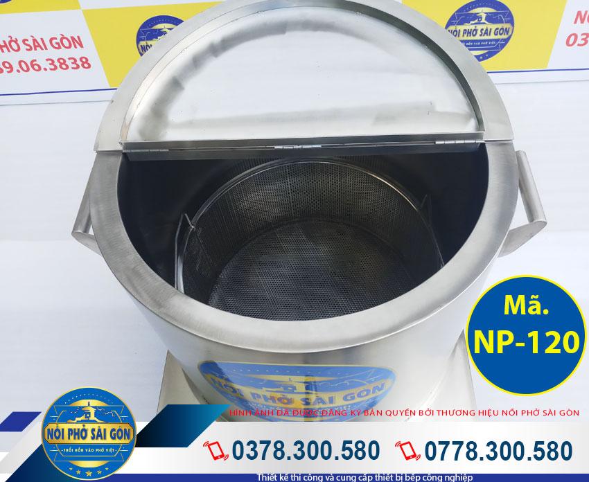 Báo giá nồi hầm xương nấu nước phở 120 lít Thương Hiệu Nồi Phở Sài Gòn.