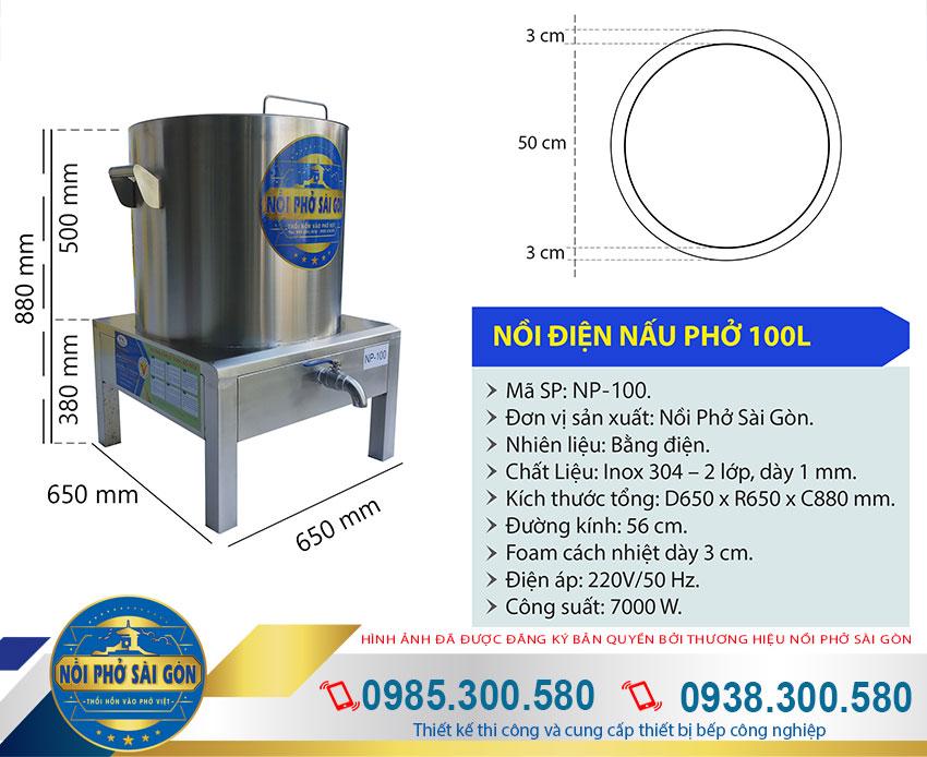 Nồi nấu nước phở điện đa năng, sản phẩm chính hãng khi mua tại xưởng sản xuất Thương Hiệu Nồi Nấu Phở Sài Gòn của chúng tôi.