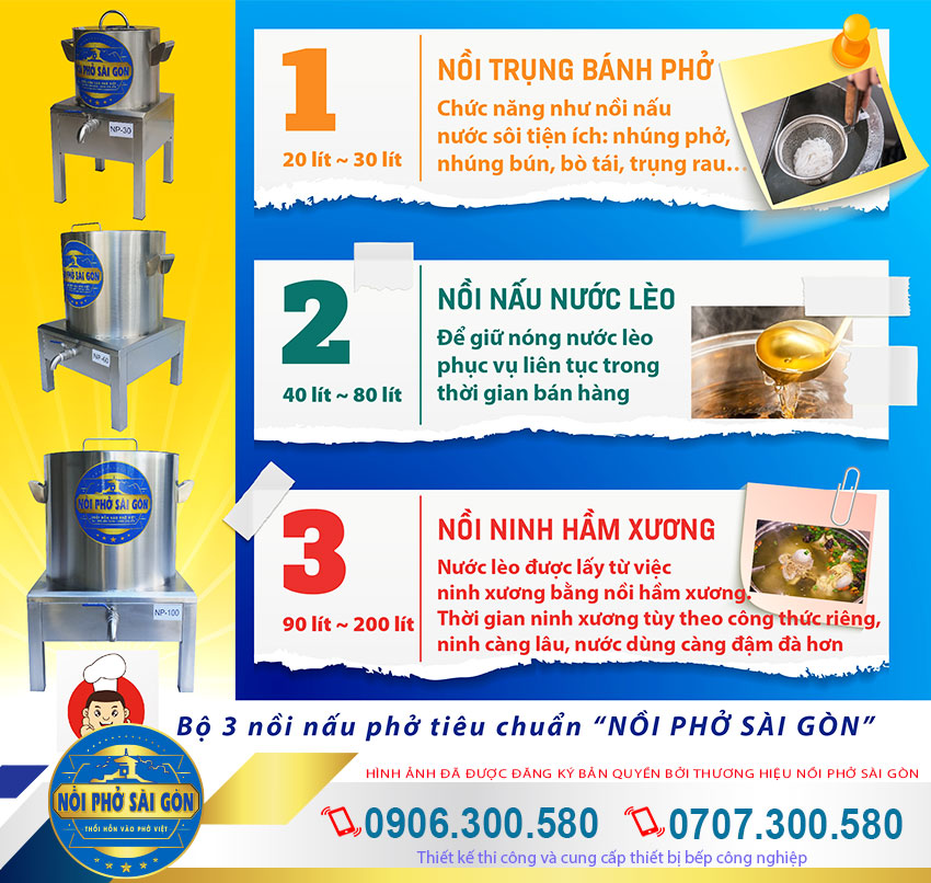 Giá bán nồi nấu phở bằng điện giá tốt tại TP HCM.