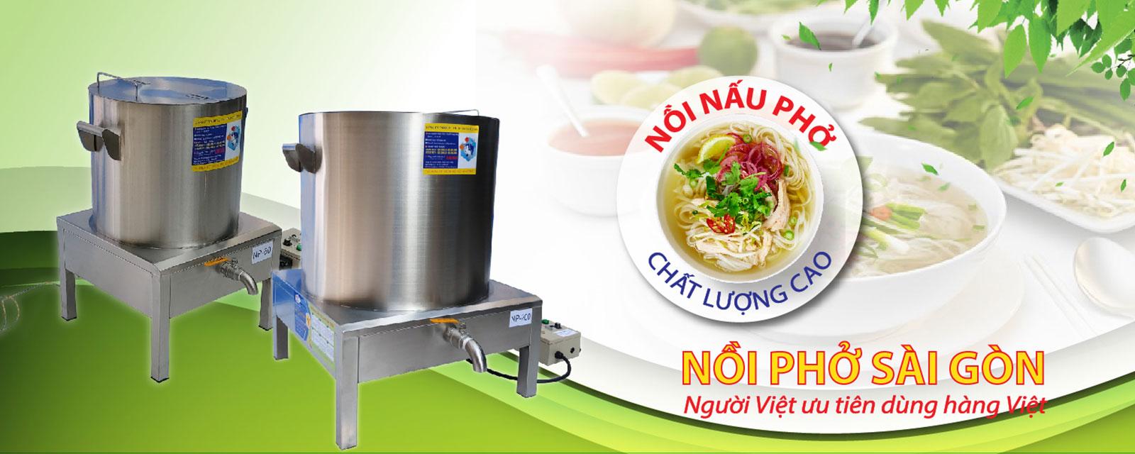 nồi nấu phở điện chất lượng cao - Nồi Phở Sài Gòn
