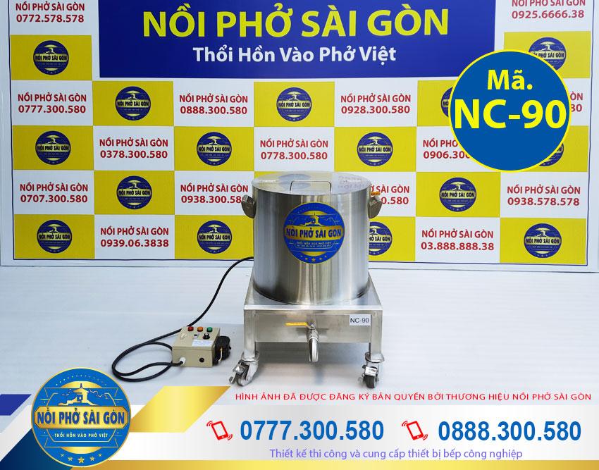 Báo giá nồi nấu cháo bằng điện 90 lít, nồi nấu cháo công nghiệp giá tốt mới tại xưởng sản xuất.