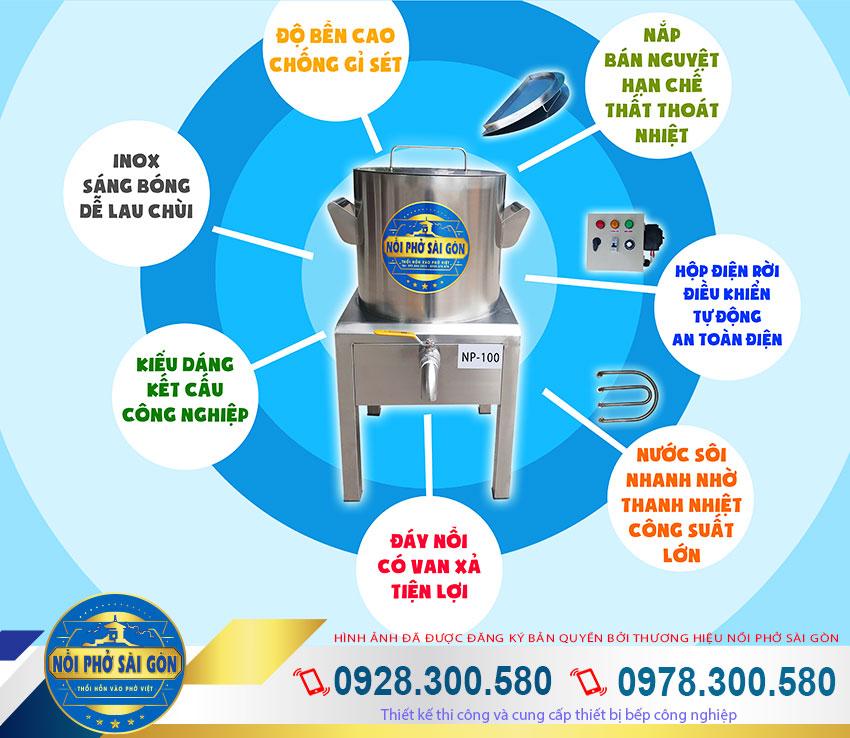 Địa chỉ mua nồi nấu phở bằng điện uy tín tại TP HCM. Hãy liên hệ chúng tôi thương hiệu Nồi Phở Sài Gòn.