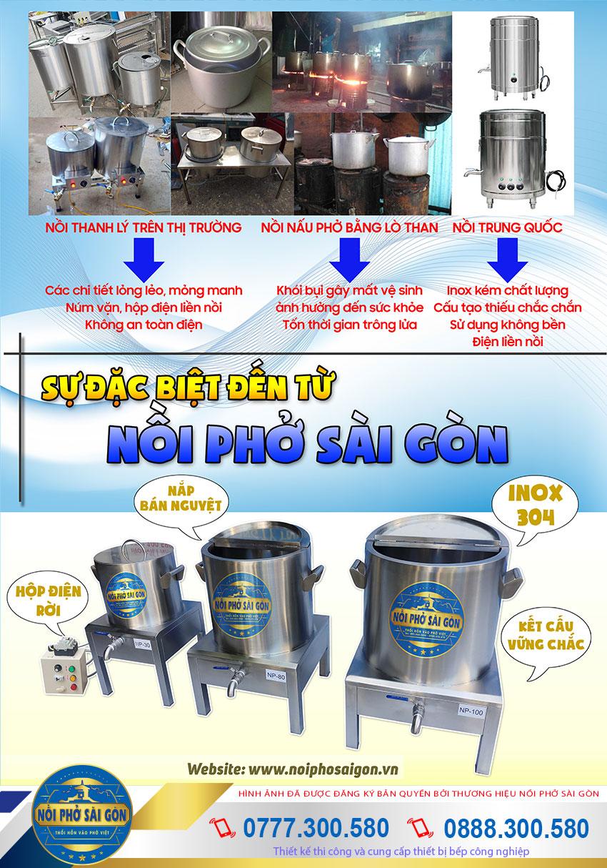 Thương Hiệu Nồi Phở Sài Gòn là địa chỉ bán nồi nấu phở bằng điện uy tín nhất hiện nay.
