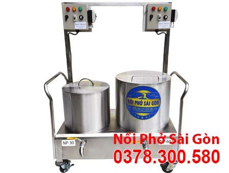 Bộ nồi nấu phở bằng điện 30 lít và 60 lít