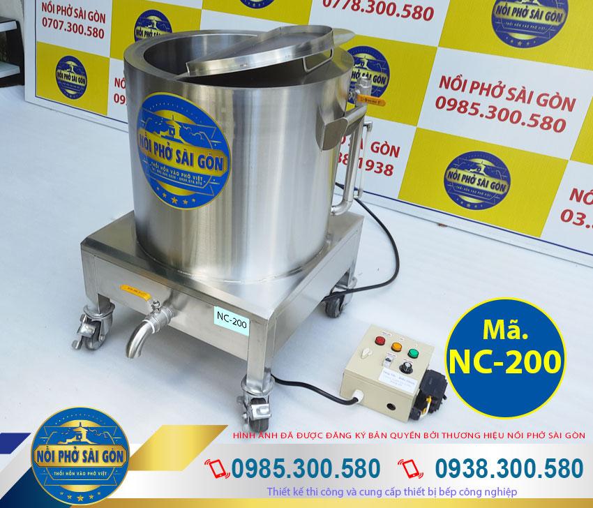 Nồi nấu cháo công nghiệp bằng điện 200 lít, nồi nấu cháo bằng điện, nồi inox nấu cháo công nghiệp bằng điện.